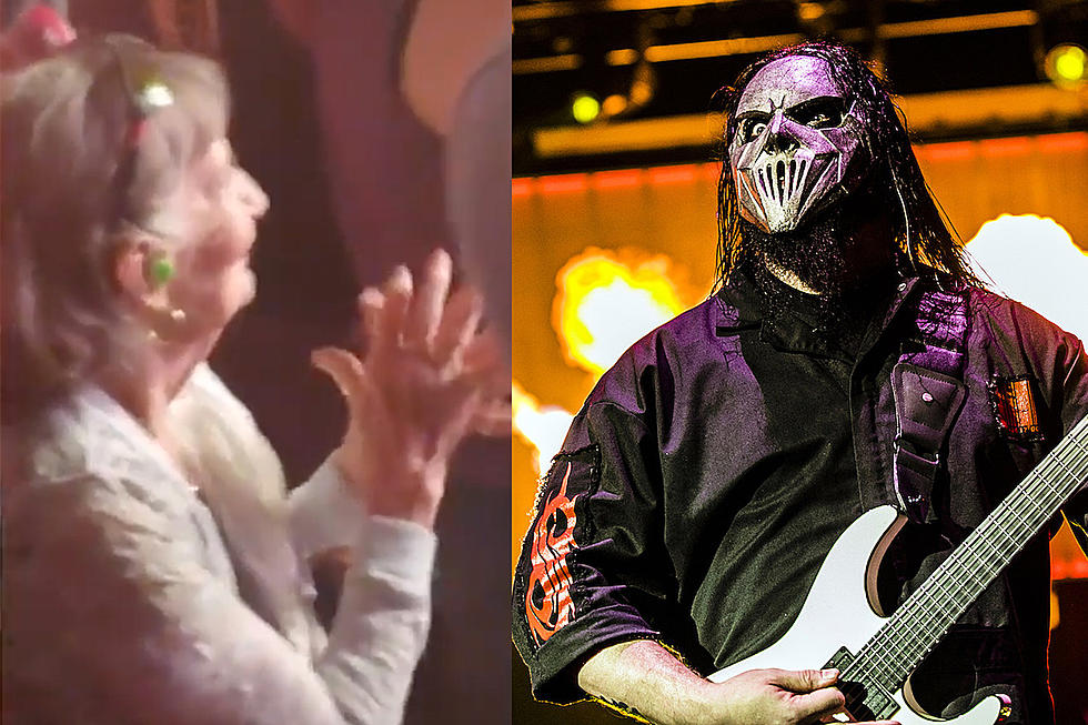 Watch the Coolest Grandma Ever Rock Out at Slipknot Show