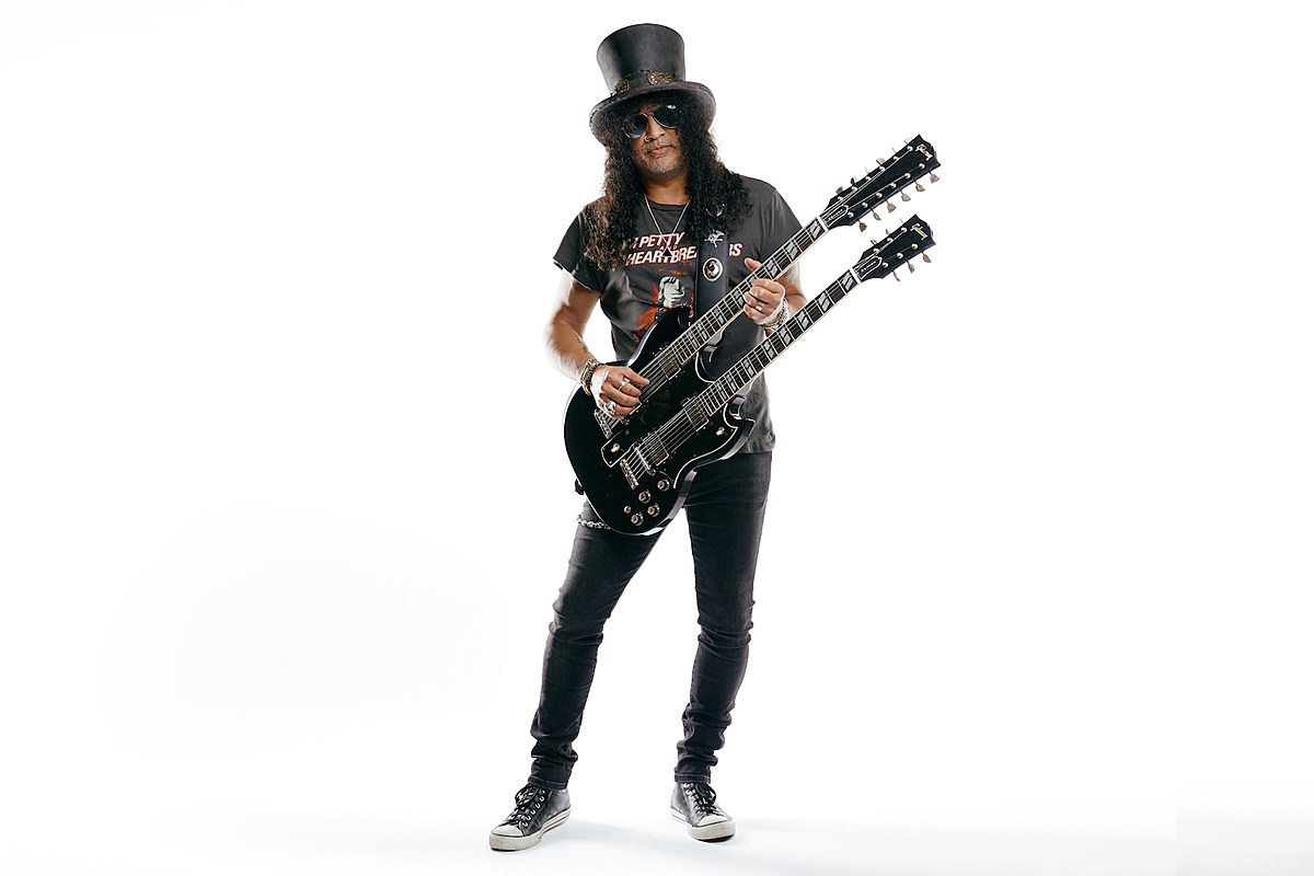 The Slash Signature Gibson Double Neck Guitar Is Here