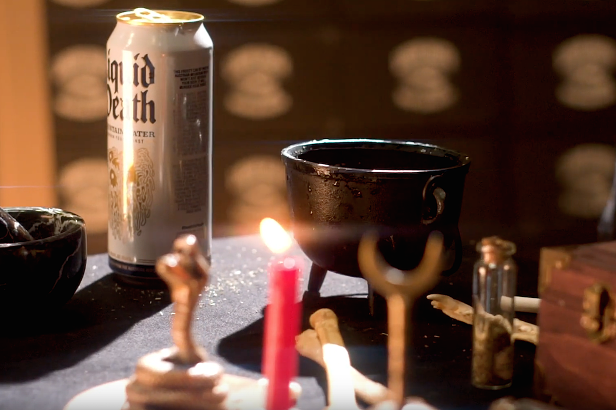 Liquid Death's Cursed Canned Water Makes You a Demon Magnet