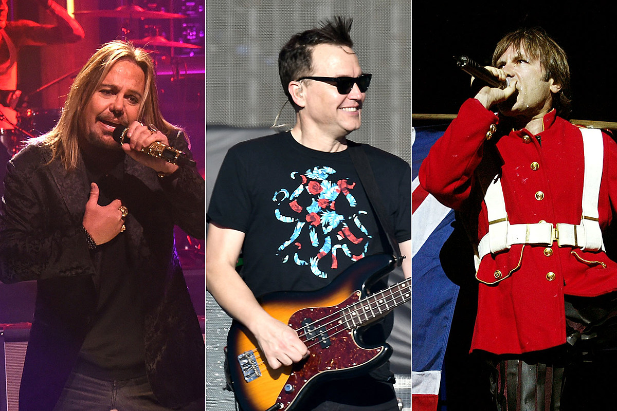 Motley Crue, Blink-182, Iron Maiden Lead Rock Hall Fan Vote