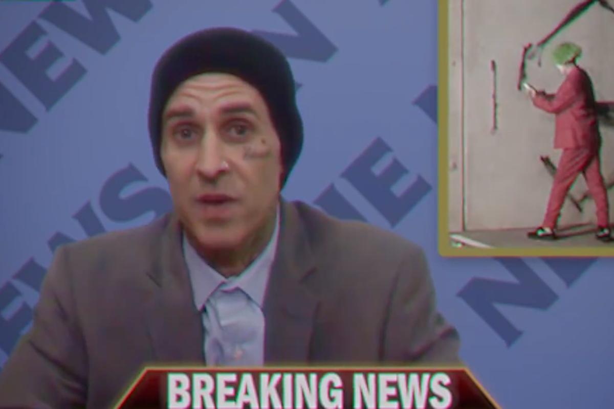 Watch Jumex's New Joker-Inspired Video Featuring Blink-182's Travis Barker