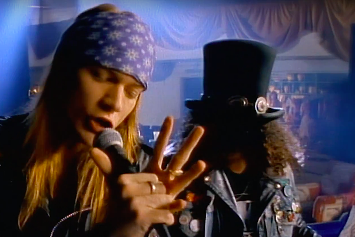 'Sweet Child O' Mine' Is First 80s Video to Reach A Billion Views