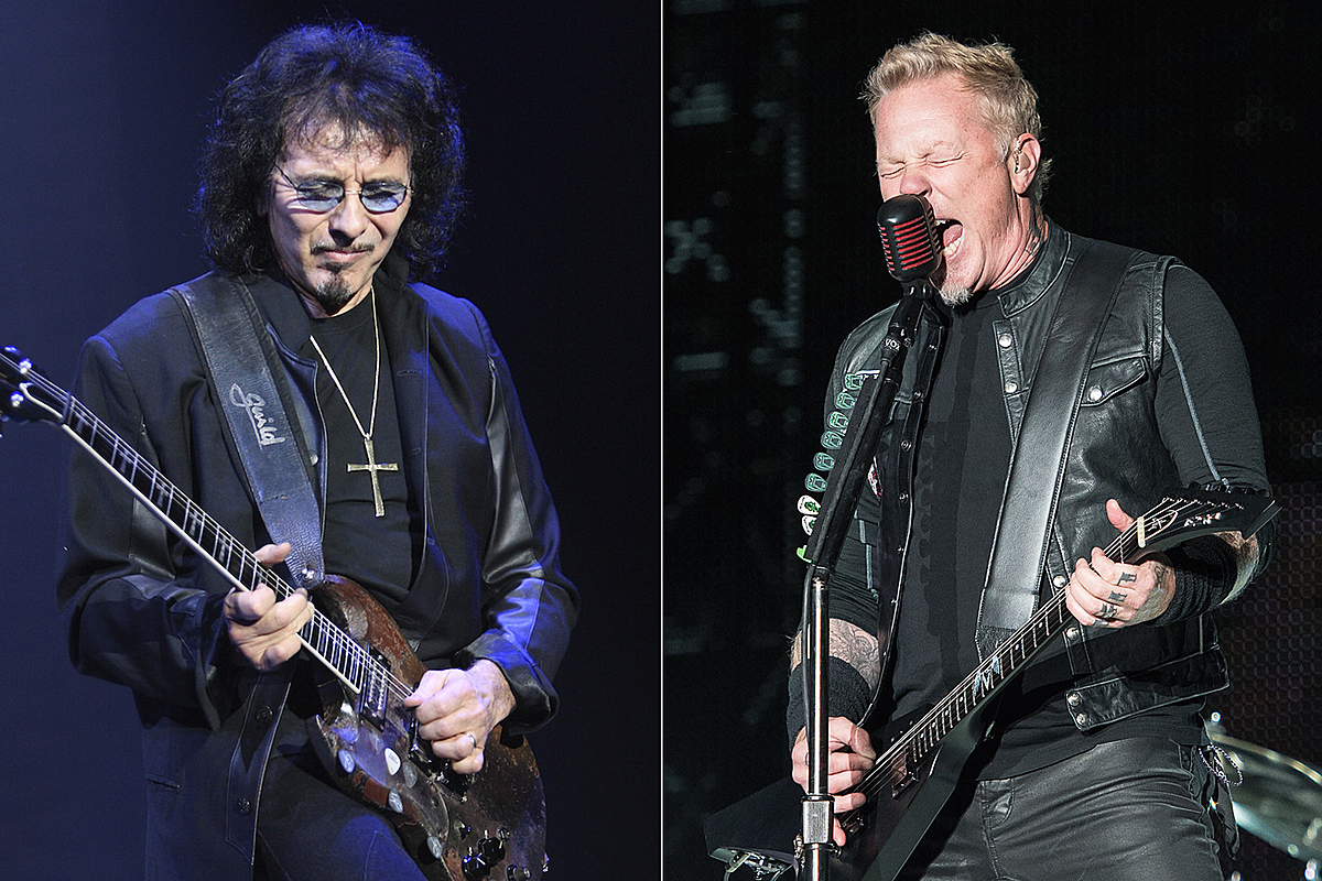 Tony Iommi Sends Supporting Message to James Hetfielfd
