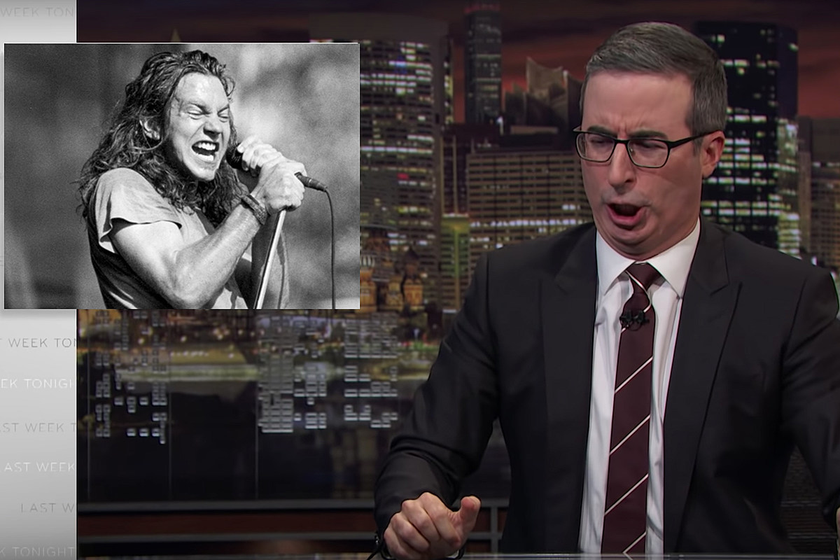 John Oliver's Eddie Vedder Impression Is a Ten
