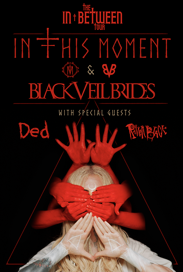 Wicked Tour 2020.In This Moment Announce 2020 Tour With Black Veil Brides