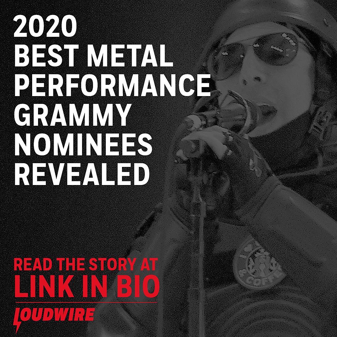 Best Metal 2020.2020 Best Metal Performance Grammy Awards Nominees Revealed