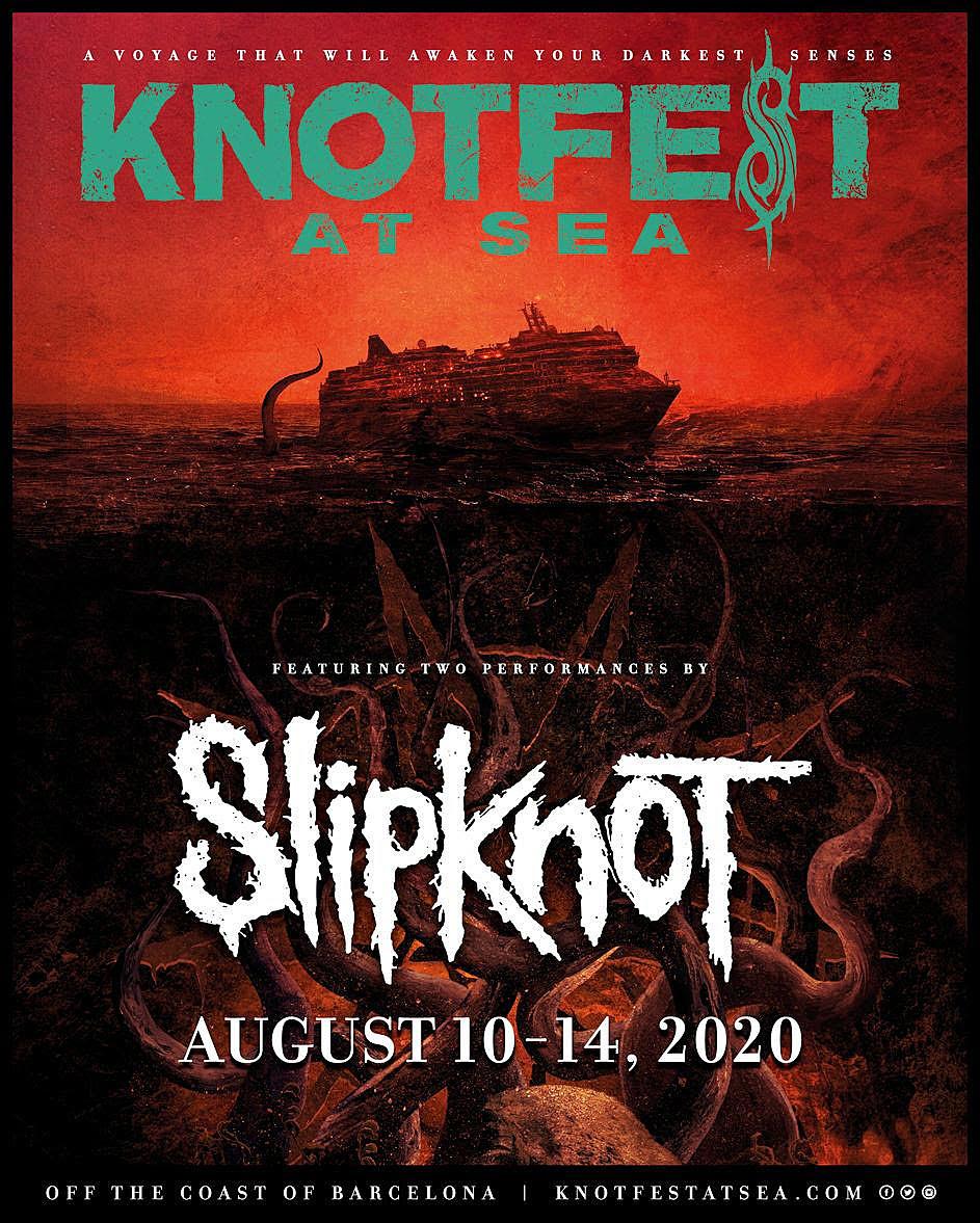 Resultado de imagem para slipknot knotfest at sea