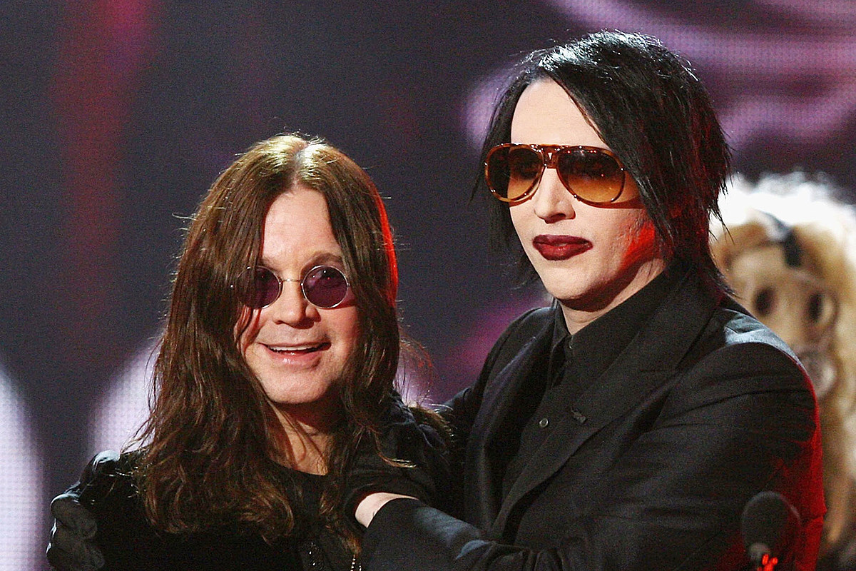 Marilyn Manson to Join Ozzy Osbourne on 2020 Tour