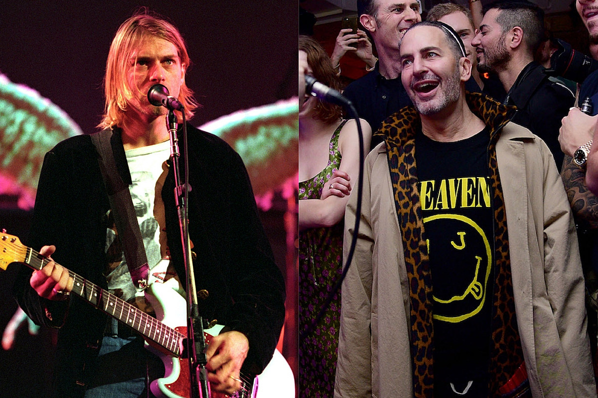 Nirvana Countersued by Designer Marc Jacobs Over Smiley Face Logo