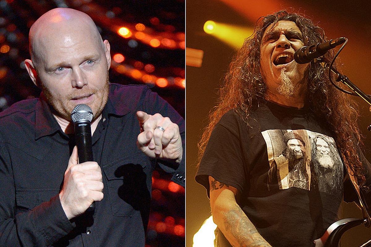 Bill Burr Got Emotional at Slayer's Final Show