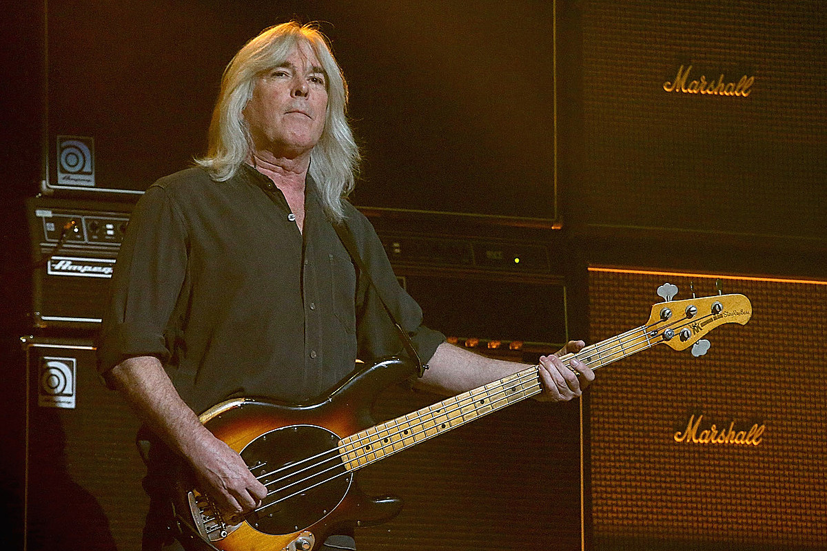 Cliff Wiliams ACDC AC/DC's Cliff Williams Is Committed to Playing 'A Few Shows'