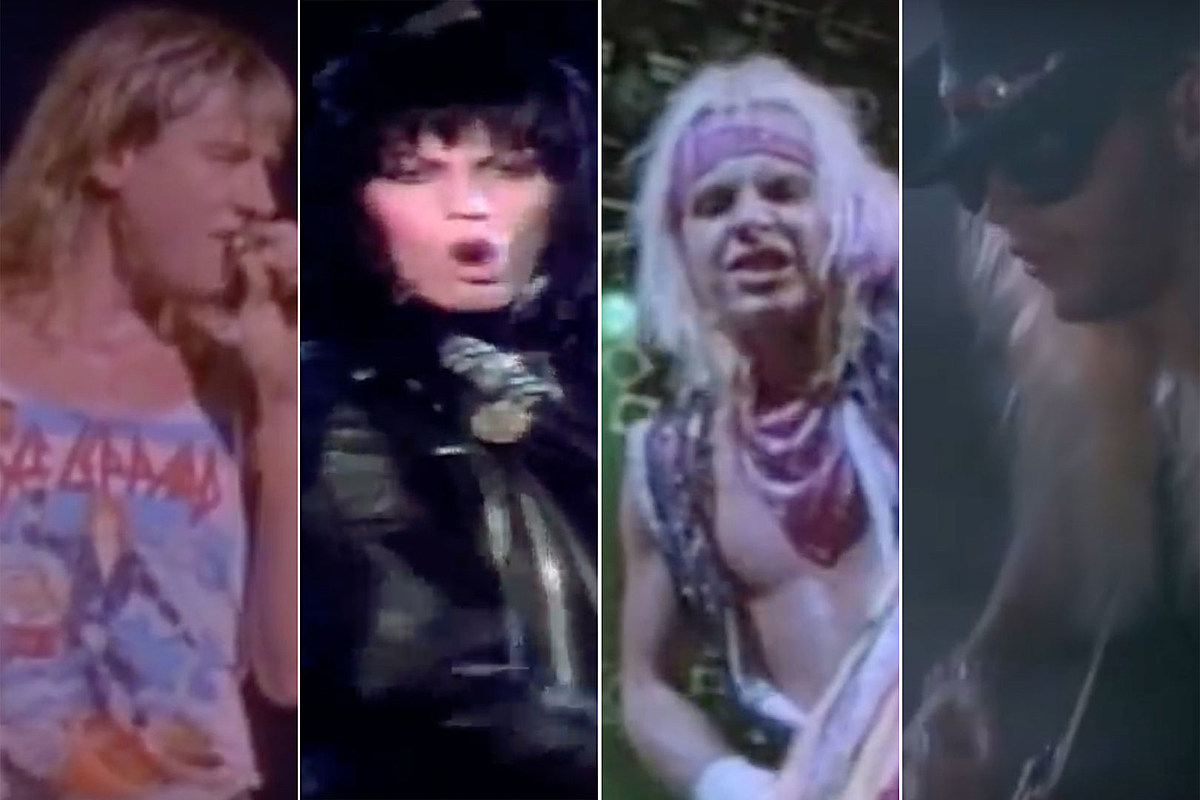 Hevey metal sexy girls buts 30 Most Epic 80s Rock Metal Music Videos