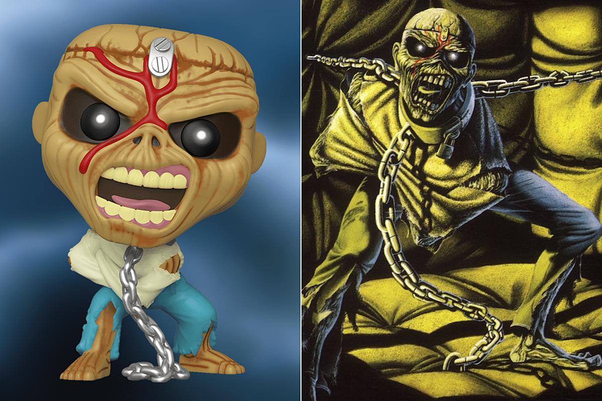 Iron Maiden Finally Get Funko Figures, Four Eddies Coming Soon