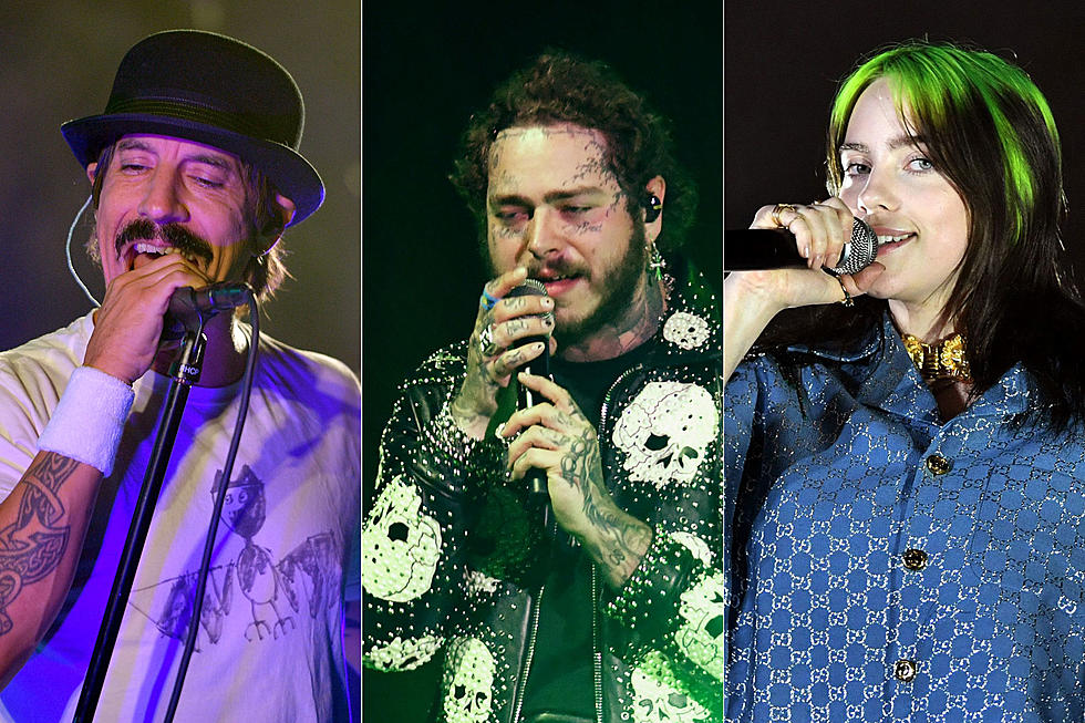 The Hangout Music Festival 2020.Chili Peppers Post Malone Billie Eilish Lead 2020 Hangout