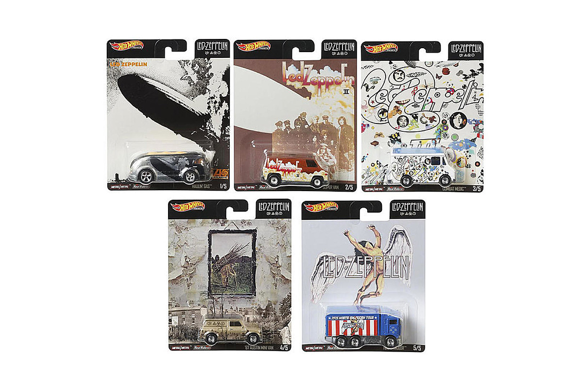 Led Zeppelin Hot Wheels Are Hitting Toy Shelves This Christmas