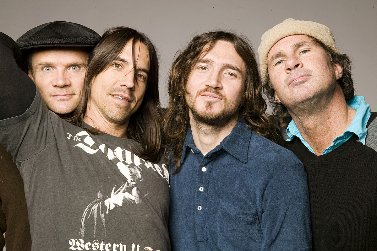 Red Hot Chili Peppers Recording New Album With John Frusciante