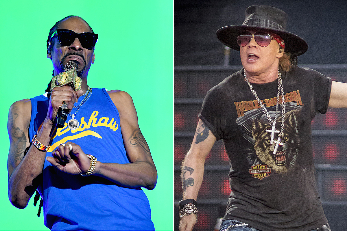 Snoop Dogg Will Open for Guns N' Roses at Super Bowl Music Fest