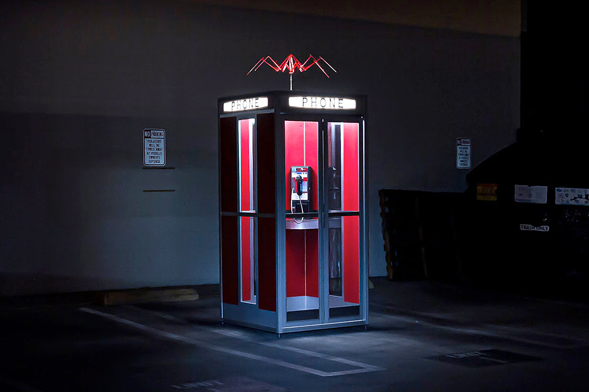 Full Size Bill Amp Ted Replica Phone Booth Can Now Yours