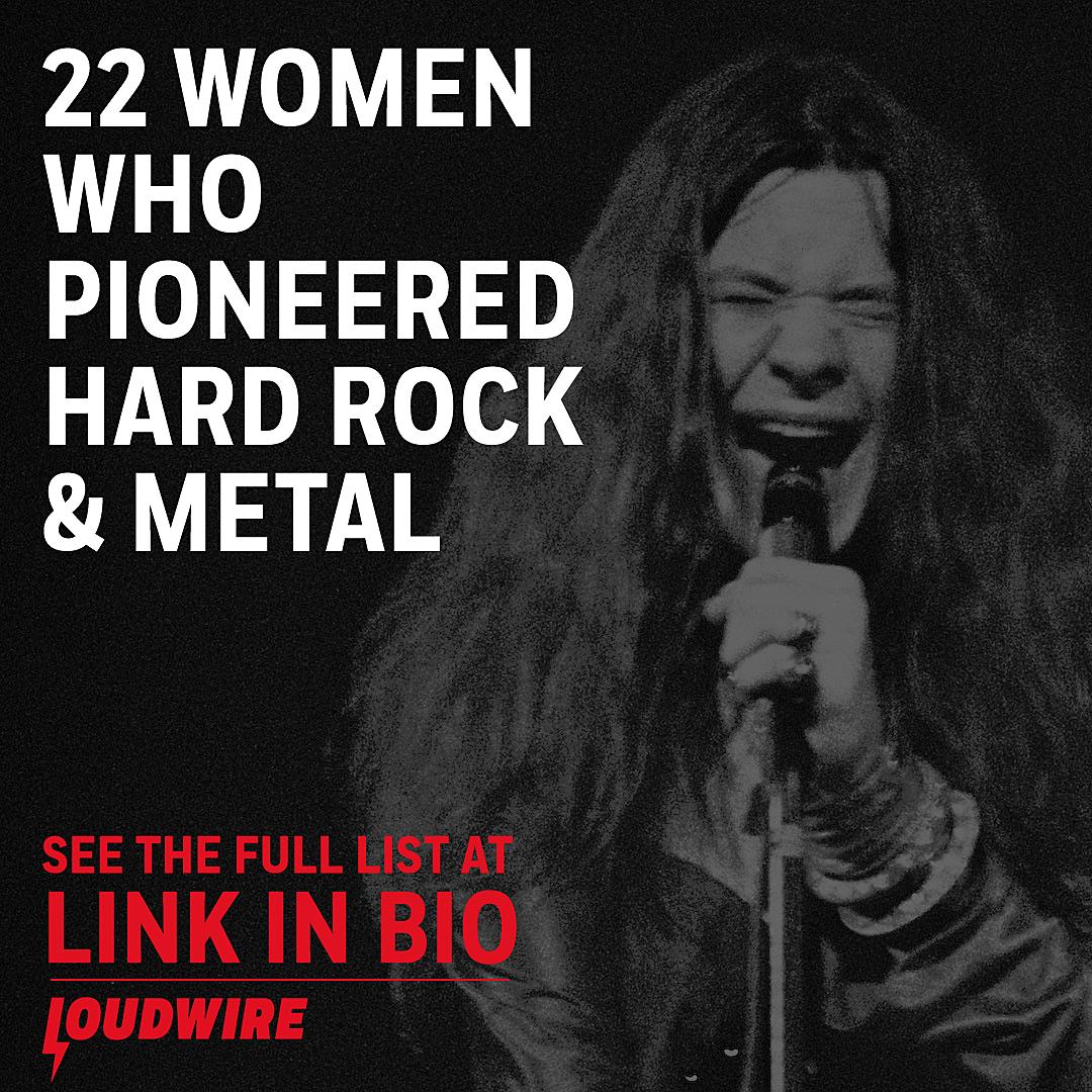22 Women Who Pioneered Hard Rock Heavy Metal