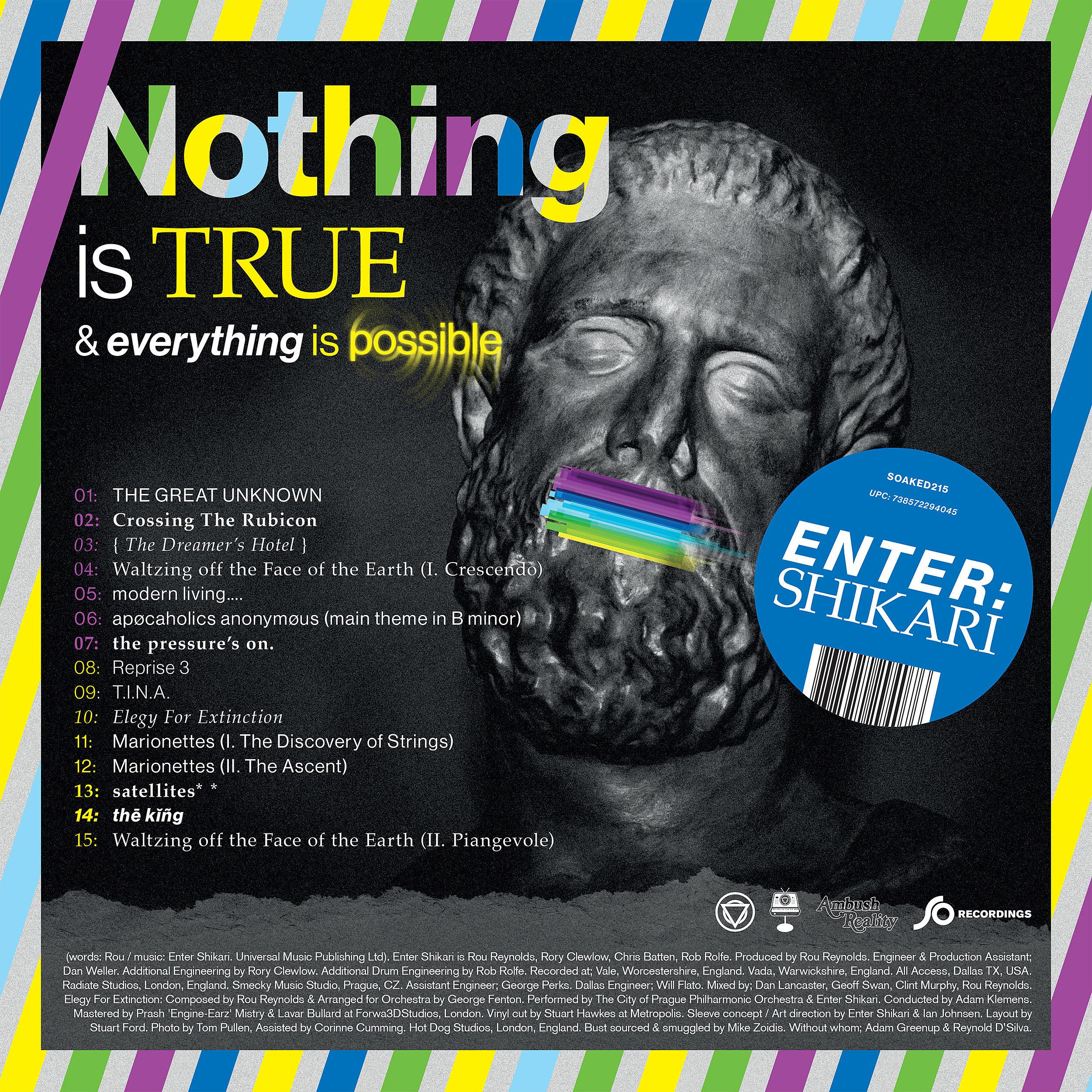 Resultado de imagen para nothing is true & everything is possible