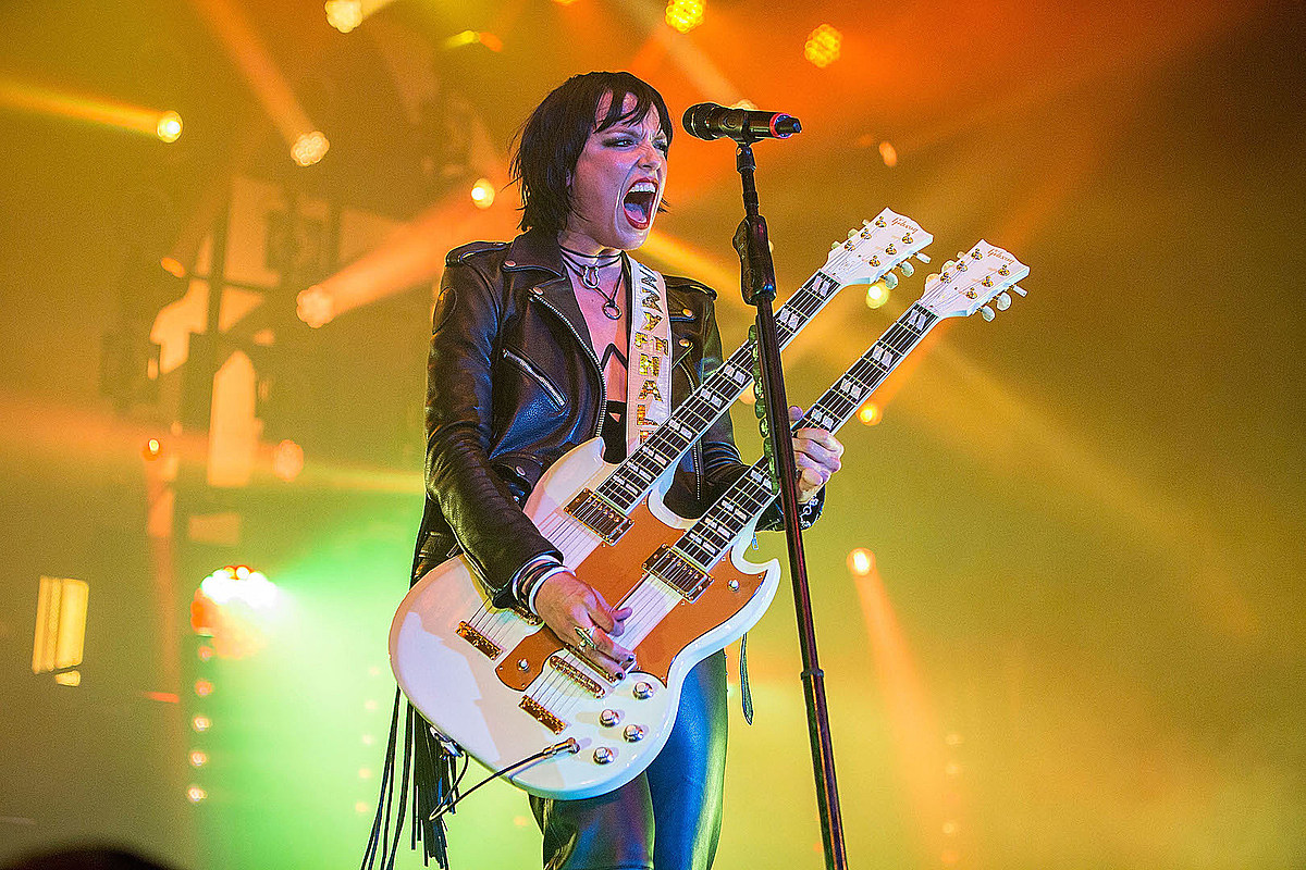 Lzzy Hale Halestorm Halestorm's Lzzy Hale: 'I'm Writing the Best Songs I Ever Have'