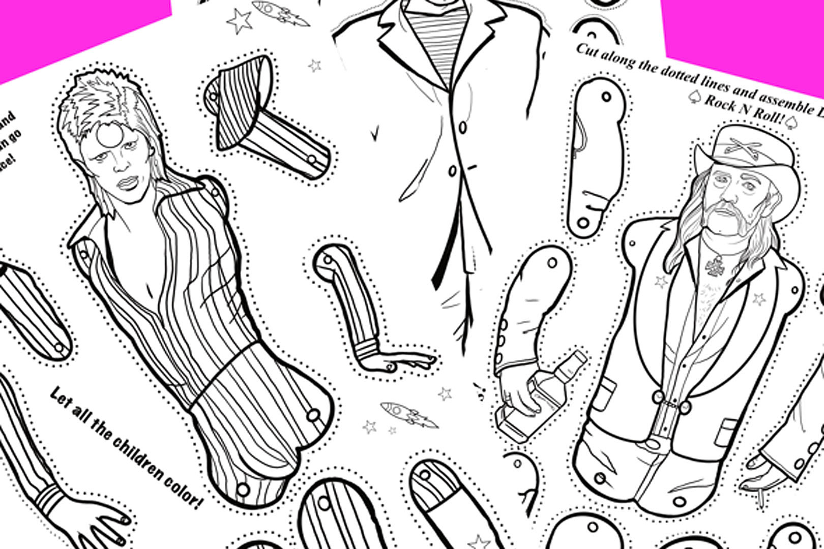Pop Punk Coloring Book now features Simple Plan   EN: SimplePlan.cz   1080x1620