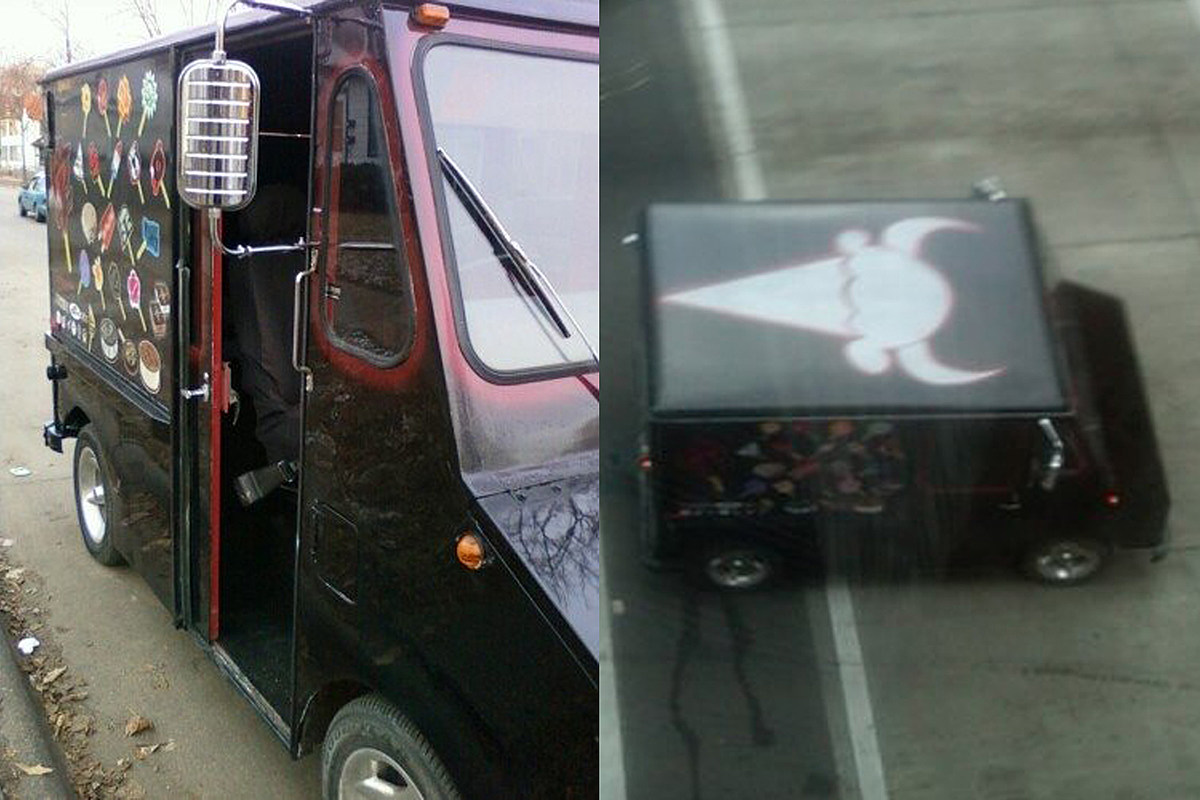 Death Metal Ice Cream Truck Serves Nothing But Disappointment