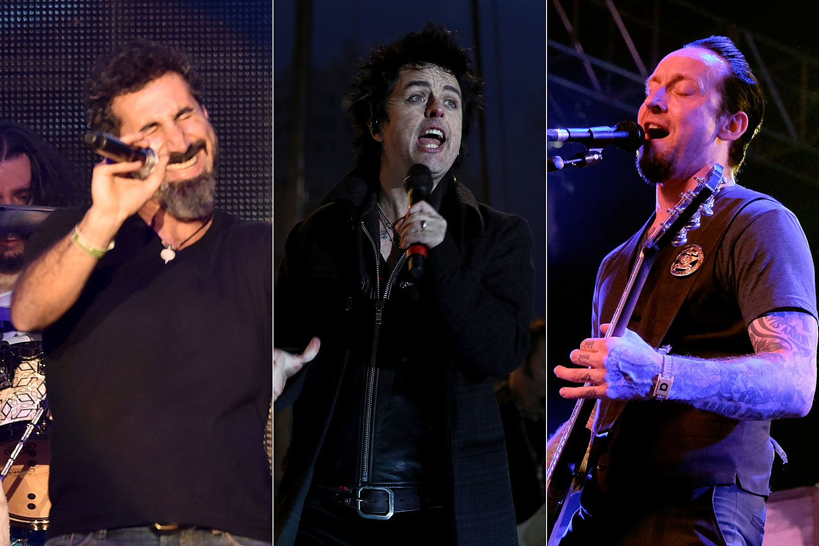 SOAD, Green Day + Volbeat Lead 8 Rock Am Ring Rock Im Park