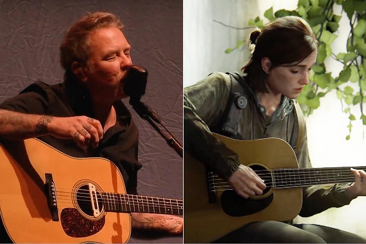 lastofus Metallica 'Nothing Else Matters' Played on Guitar in 'Last of Us'