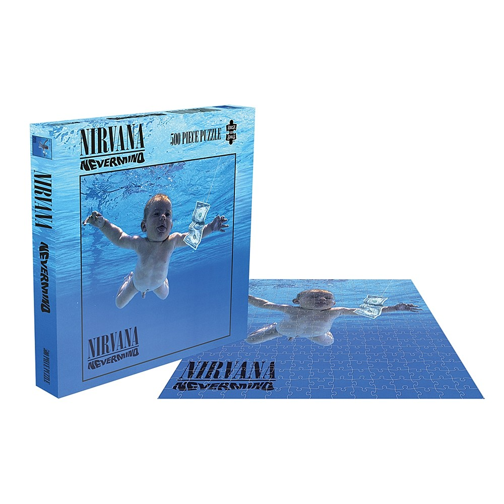 Jigsaw Puzzles for Nirvana's Two Most Classic Albums Are Coming