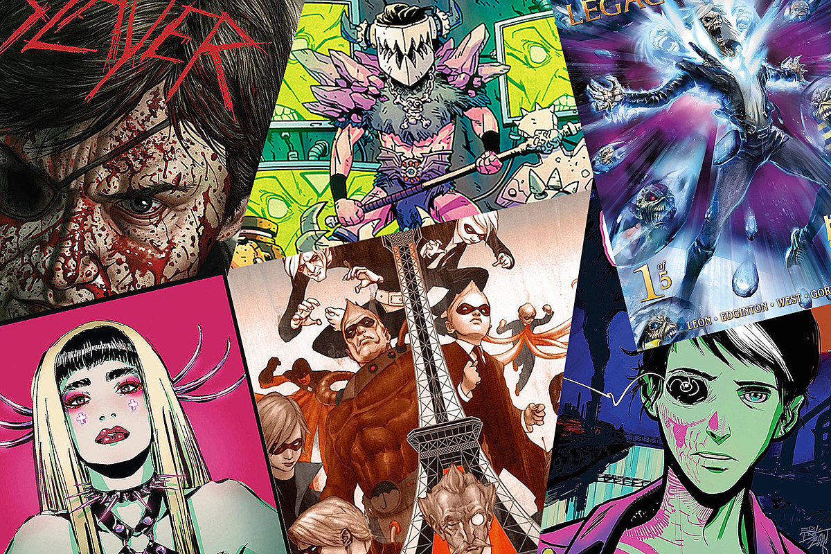 20 Must-Have Rock + Metal Comics, Graphic Novels + Photo Books