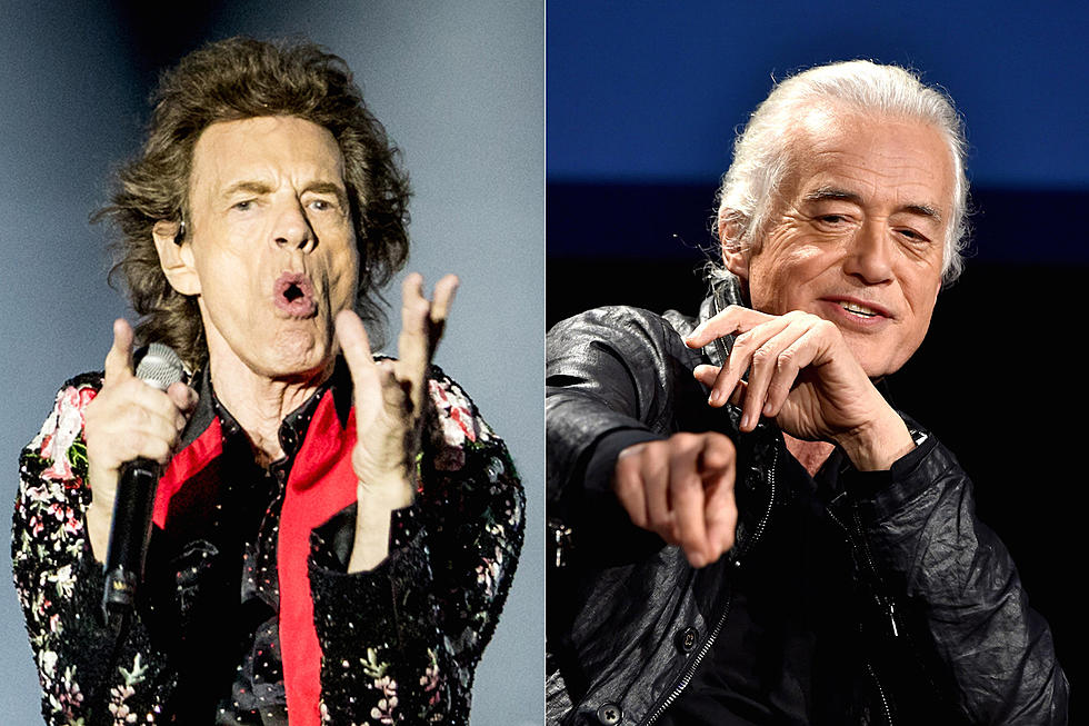 Rolling Stones Debut Previously Unreleased Song Feat. Jimmy Page