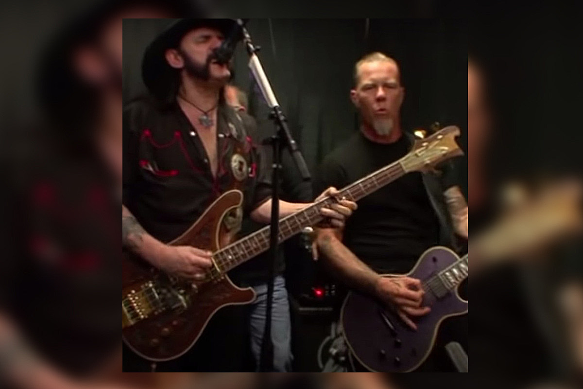 V2 Watch Metallica Play Two Songs Backstage With Lemmy Kilmister