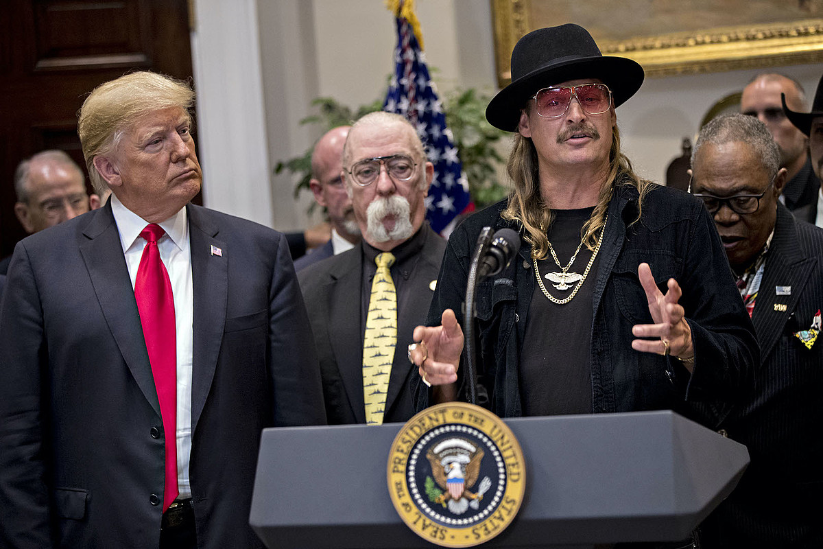GettyImages 1051907666 Kid Rock to Headline Donald Trump Rally in Michigan