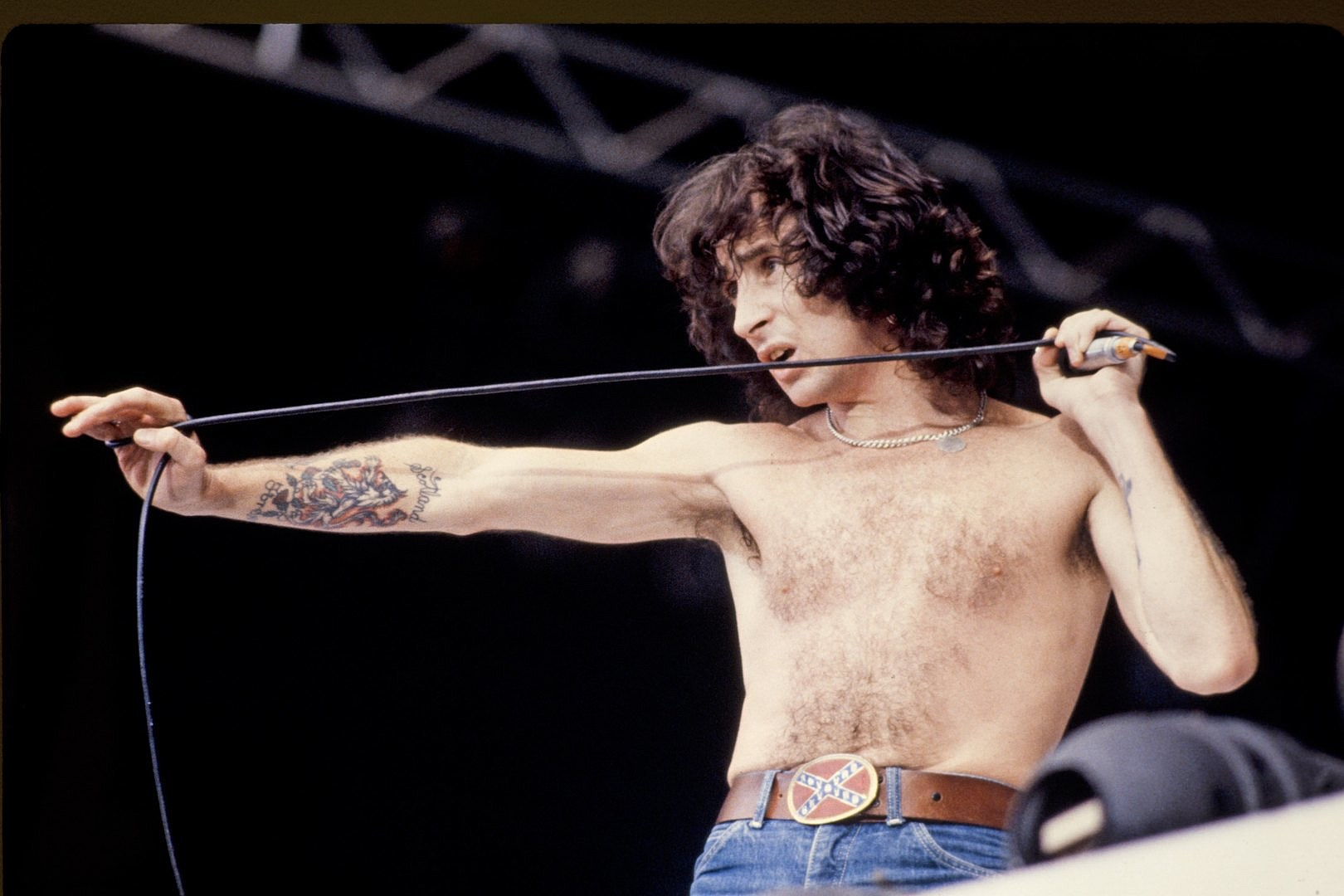 Bon Scott's Lost Songs Finally Released After 50 Years