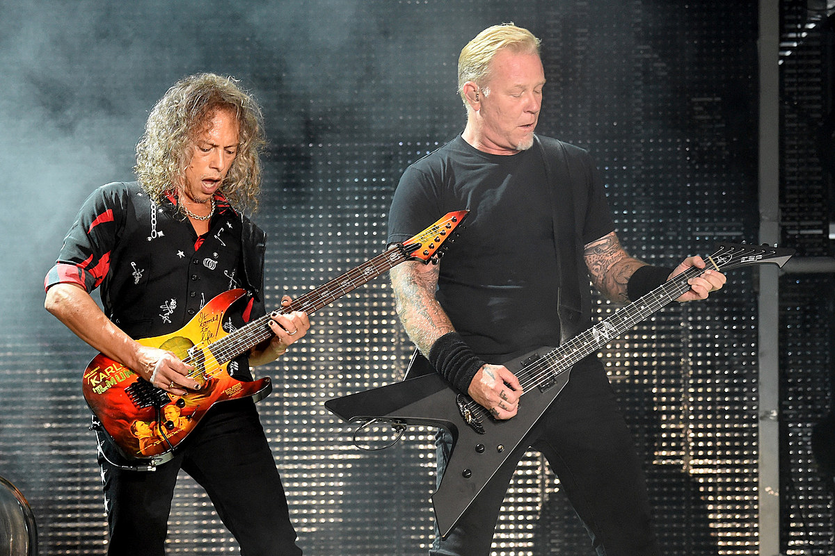 GettyImages 824417788 Kirk Hammett Defends Metallica's Decision to Keep Making Whiskey