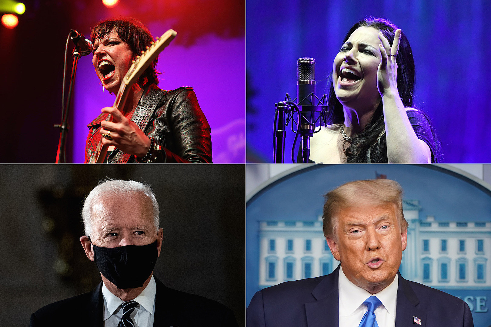 Lzzy Hale + Amy Lee: Election Is Good Vs. Evil Not Red Vs. Blue