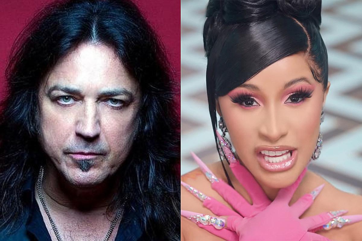 michael sweet cardi b1 Stryper Singer Michael Sweet Says Cardi B's 'WAP' Is 'Garbage'