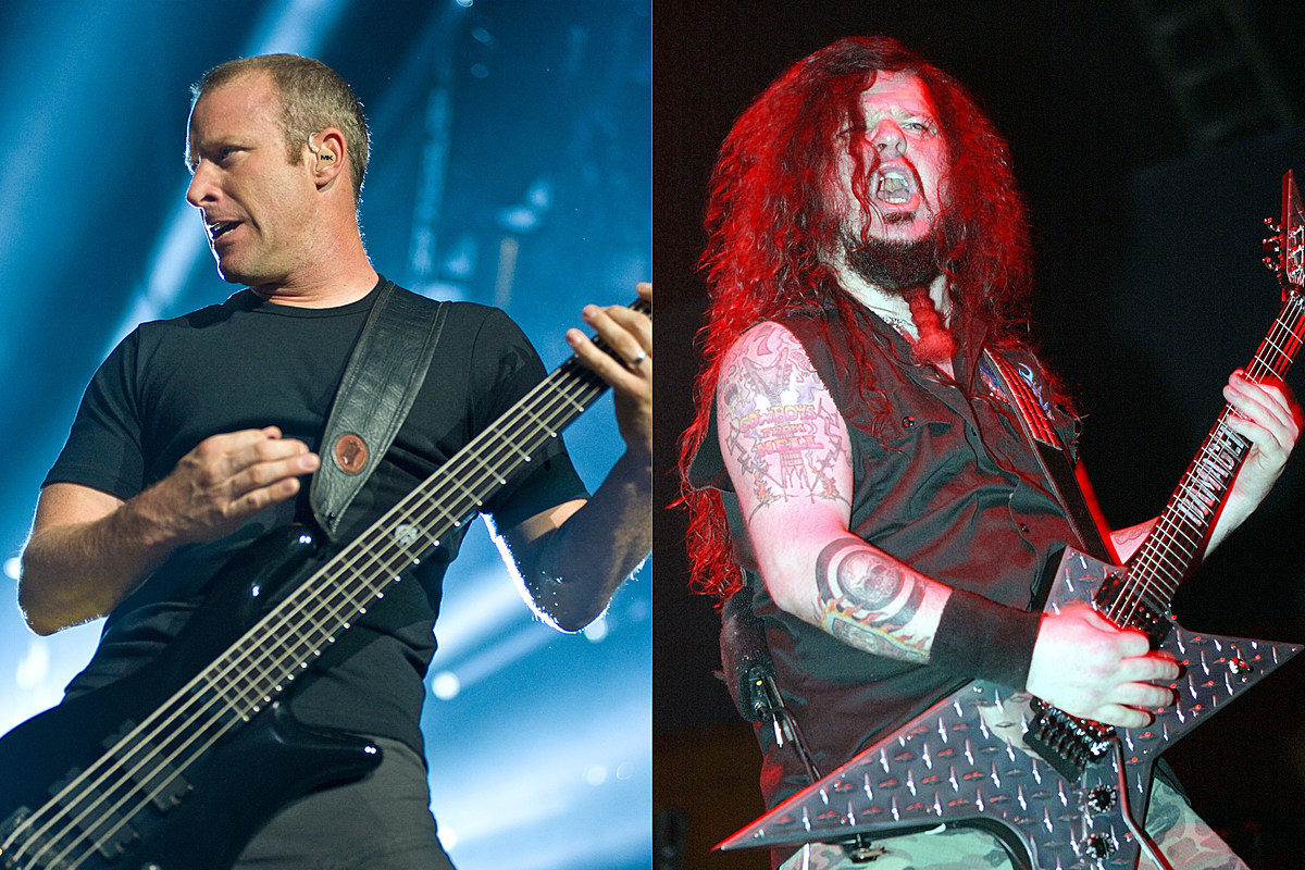 nickelback pantera mike kroeger dimebag darrell abbott Nickelback Bassist: I Couldn't Keep Up With Pantera's Partying