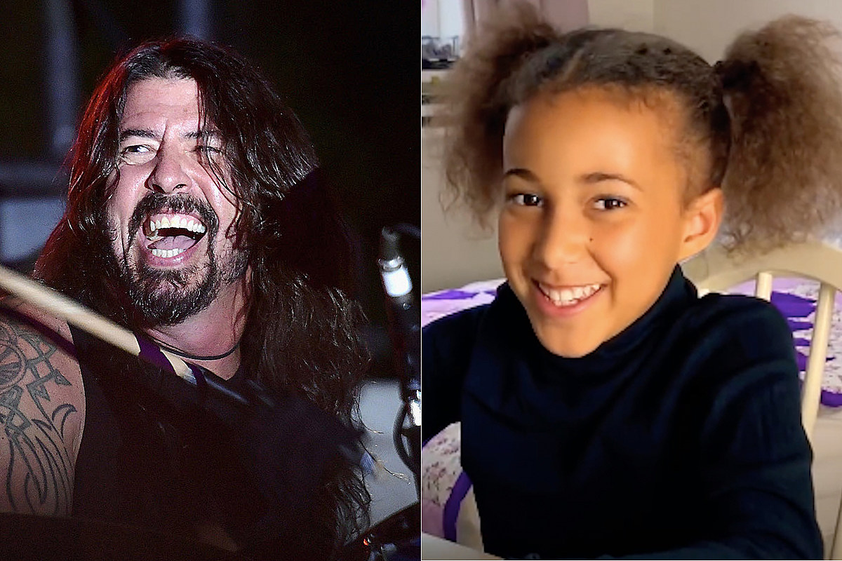 split4 Dave Grohl Wrote a New Song for 10-Year-Old Nandi Bushell