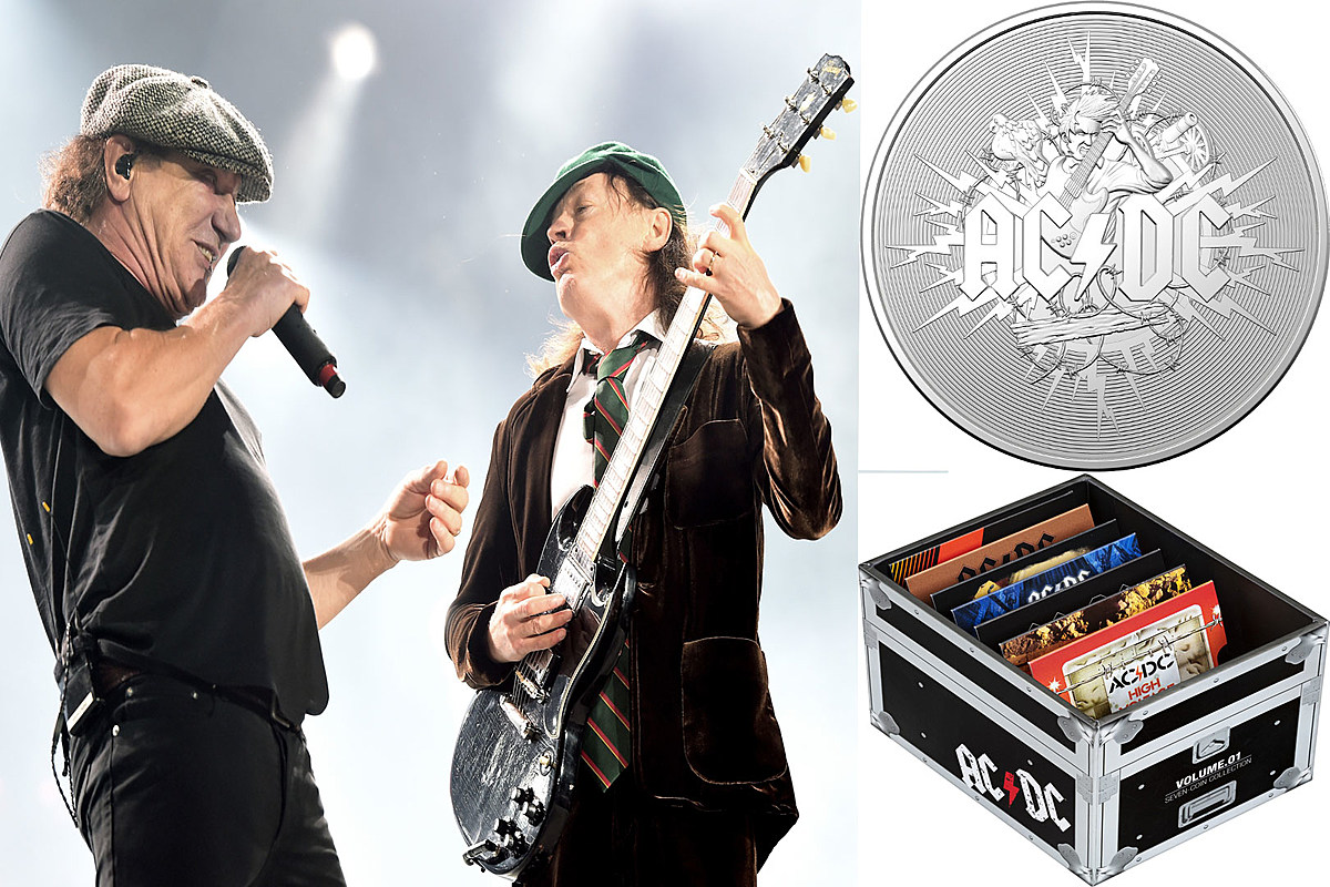 ACDC Coins Final Royal Australian Mint Issuing New AC/DC Coin Collection