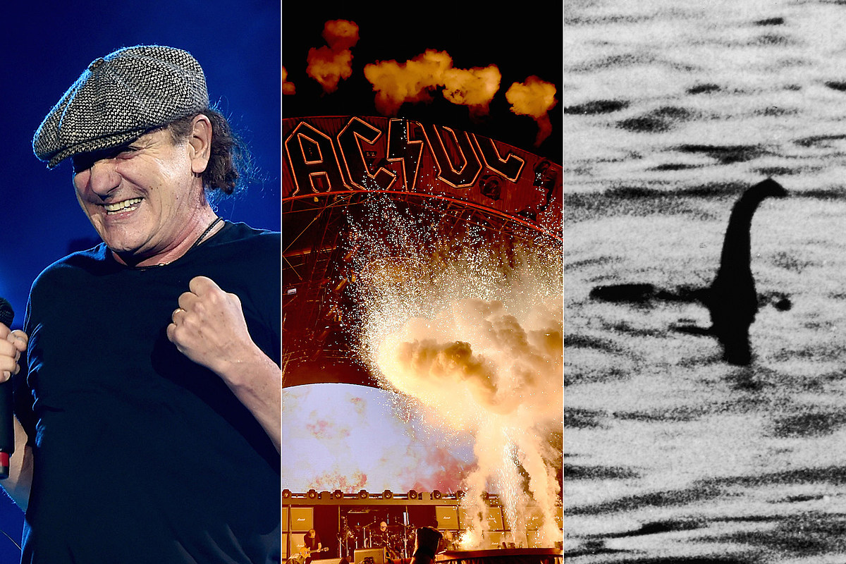 ACDCLochNess AC/DC Drunkenly Tried to Use Fireworks to Find Loch Ness Monster
