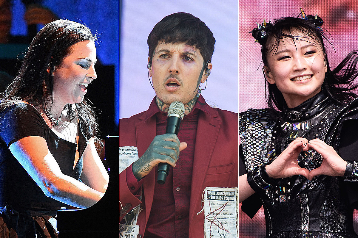BMTH Listen: New BMTH Songs Feat. Amy Lee + Babymetal