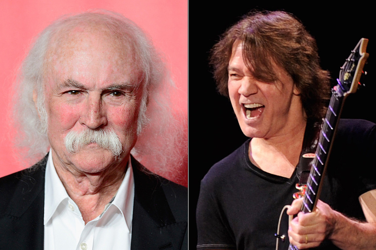 DavidCrosbyEVH David Crosby: 'I Am an Old Idiot' + Eddie Van Halen Was 'Amazing'