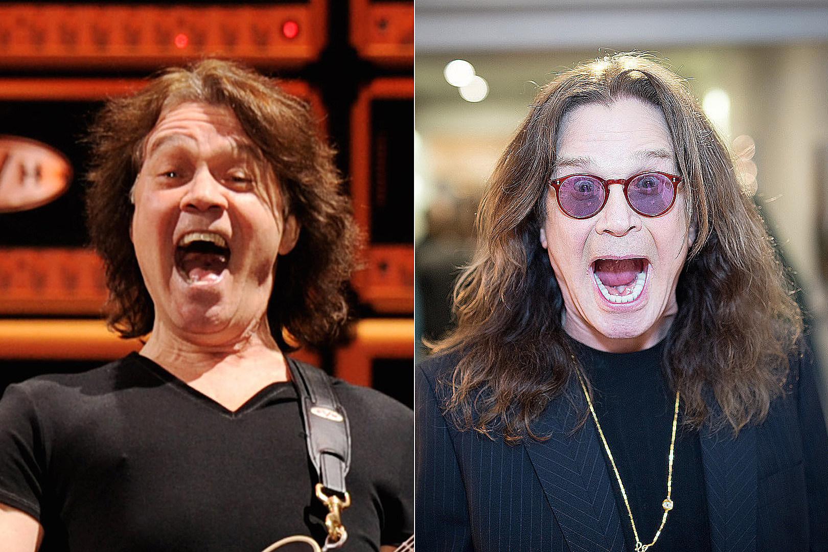 EVH Once Drunk Dialed Ozzy + Asked Him to Sing for Van Halen