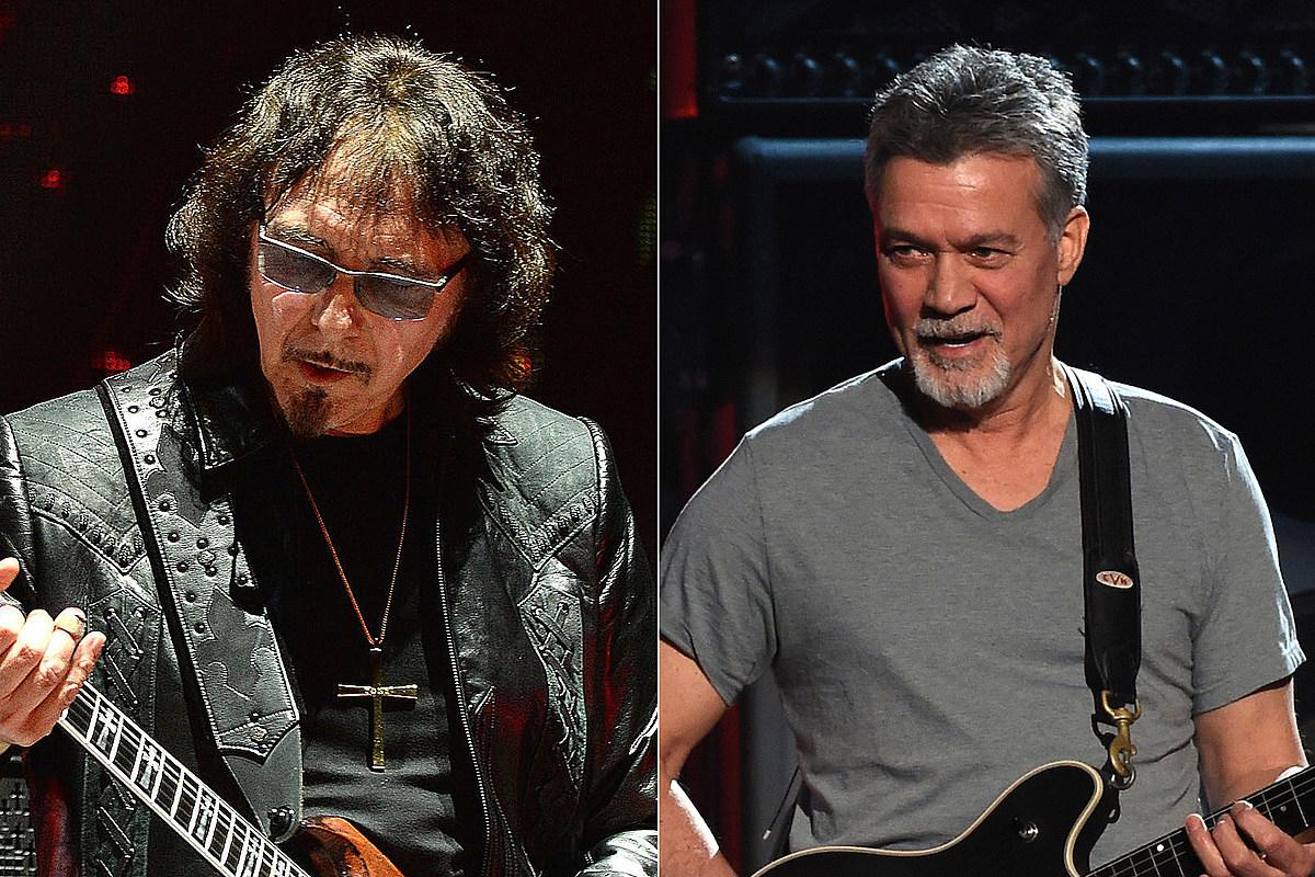 IommiEVH How Eddie Van Halen Co-Wrote a Black Sabbath Song With Tony Iommi