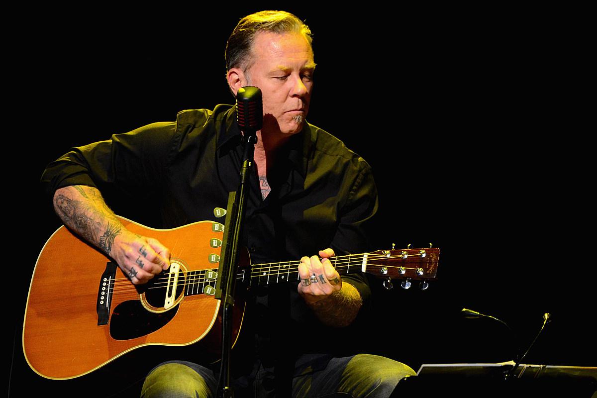 Джеймс Хетфилд из Metallica исполнил акустическую кавер-версию песни Боба Сигера Turn the Page