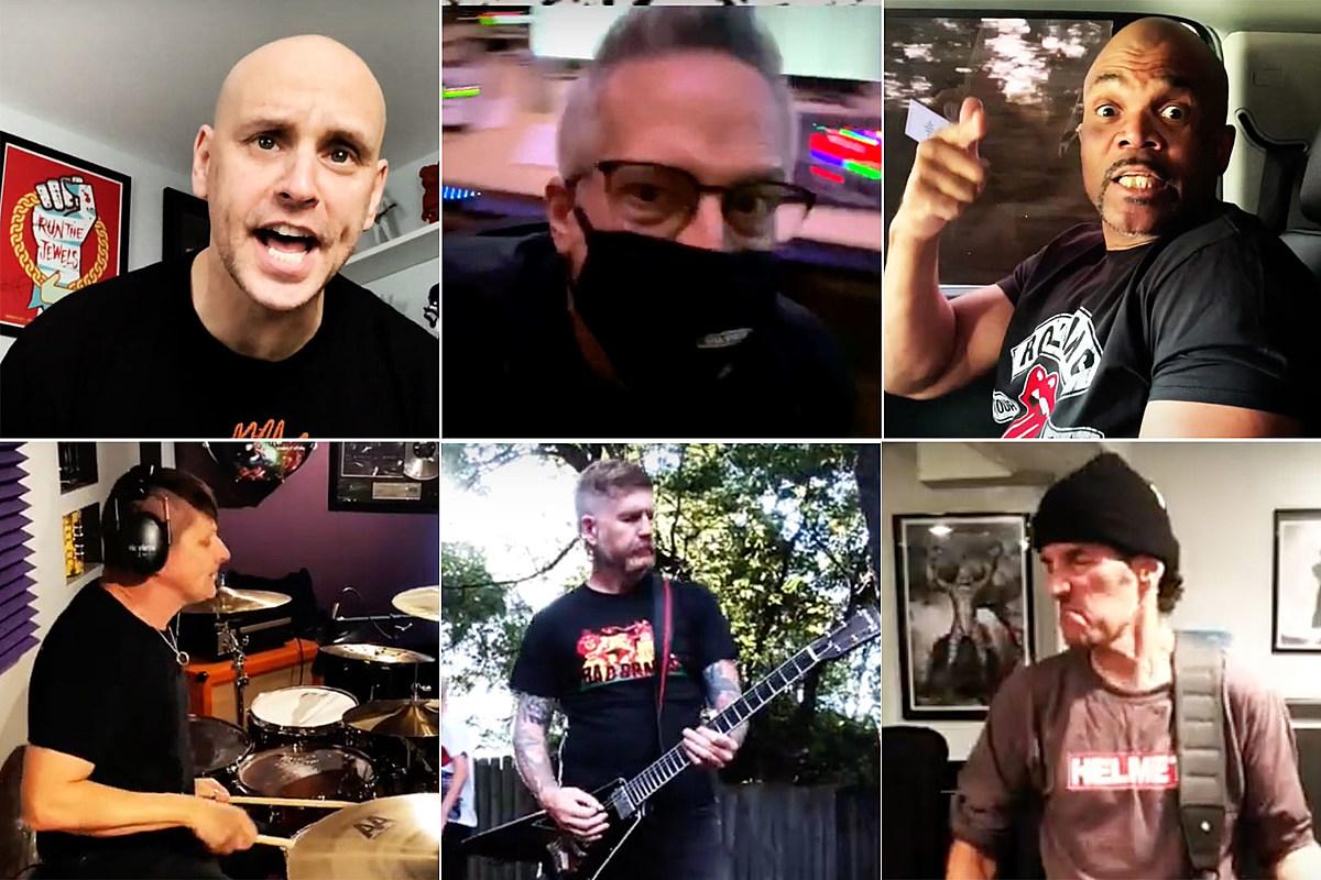 Kings of Quarantine Korn, Filter, Anthrax, Mastodon Members Cover Faith No More