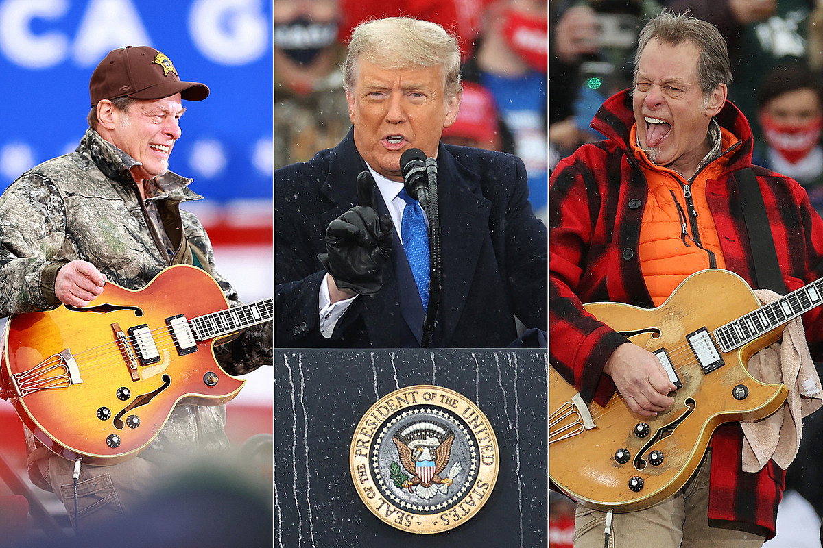 NugentTrump Watch: Ted Nugent Shreds National Anthem at Two Trump Rallies