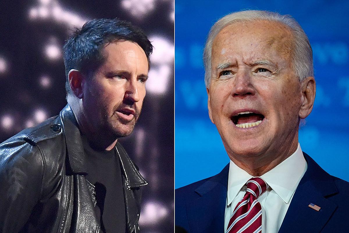 Trent Reznor Joe Biden Nine Inch Nails' Trent Reznor Supports Joe Biden for President